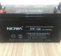 西昌诺华ups电源蓄电池直销6FM-100铅酸免维护质保三年