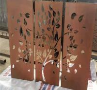 锈蚀耐候钢板 景观园林耐候板 锈钢板加工厂