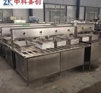 中科圣创大豆腐生产线 彩色豆腐机 小型不锈钢豆腐机