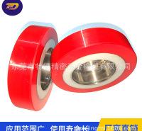 珠海可定制耐用叉车轮物流业包胶滑轮厂家