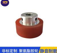 广州批发静音耐磨聚氨酯脚轮厂家