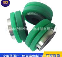 东莞批发销售橡胶包胶耐磨滚轮厂家