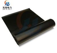 10kv绝缘胶垫/黑色5mm厚绝缘橡胶板/高压防滑绝缘垫