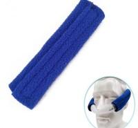 W641呼吸机头带通用保护垫减压呼吸机配件通用魔术贴调节护脸绒布套