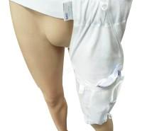 050310款带腰带款健盈定制腰带款护理尿袋绑带引流带口袋式腿带绑腿引流尿袋