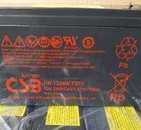 CSB蓄电池HR1224W F2F1现货包邮12V24W工作站不断电系统