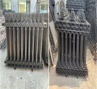 厂家供应 铸铁护栏 铁艺护栏 球墨铸铁围墙 铁艺围墙 施工防护栏