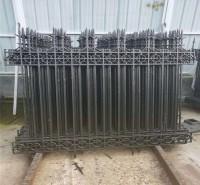 铸铁护栏 校区护栏 铁艺栏杆围墙 铁栅栏 厂区围栏厂家定制