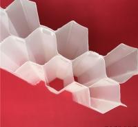 产家批发 PP PVC 玻璃钢材质蜂窝斜管 斜板填料 高频焊接安装