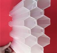 现场焊接 PP材质蜂窝斜管填料 乙丙共聚斜板 聚氯乙烯斜管 规格齐全