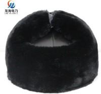 大庆短绒防砸保暖工地安全帽/安全防护用品冬季防寒棉安全帽