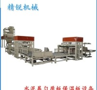 水泥基保温板生产线 模箱成型水泥基匀质板设备