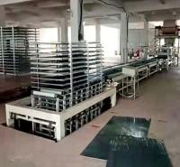 自动玻镁板生产线 精锐机械玻镁保温板设备