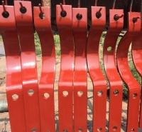 给水管道配件 三孔短管夹D2.194R 三螺栓管夹标准及图片