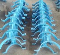 化工标准加筋管夹T型管托J3.J4型  J4-1aDN250加筋管夹支座