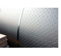 供应天津花纹板扁豆型花纹板价格 Q235B花纹板 防滑板 花纹卷批发