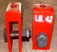 U形螺母3020401 给水管道配件中间连接件U型耳子