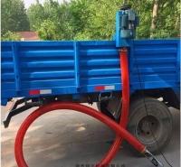 8米长软管吸粮机 车载抽麦机 车载式电动抽料机