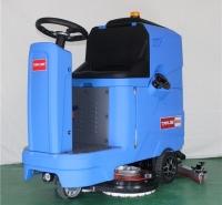 全自动驾驶式洗地机M5  机械厂车间仓库灰尘污渍油水清洗箱擦地机