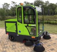 五刷吸尘洒水环保智能驾驶式清扫车JC1900