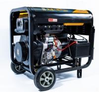 大泽动力7千瓦电启动柴油发电机特点