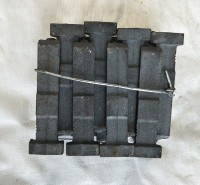 高铬耐磨叶片 大Q034 硬度高 寿命长 韧性高 耐磨铸铁配件