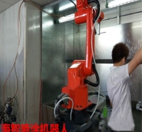 鼠标喷涂机器人进口喷涂机器人价格