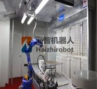 喷涂机器人手臂喷涂机器人工作原理