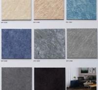 木纹地毯纹石纹钢板纹片材地板石塑地板厂家批发