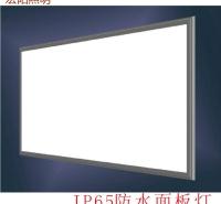 深圳防水面板灯厂家直销48W防水面板灯 595x595mm防水平板灯 IP65防水平板灯