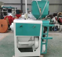 厂家直销 大豆抛光机加工设备 小型卧式砂辊碾米机