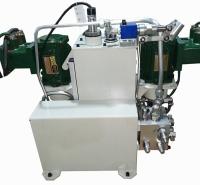 武汉恒益防爆电动无轨胶轮车液压转向制动集成控制系统集成度高