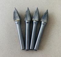 钨钢磨头 L形锥形圆头 8*22*8 使用寿命长 旋转锉刀