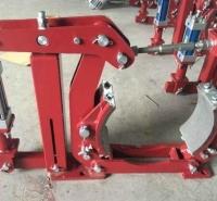 焦作气动鼓式制动器厂家QZW250气动块式制动器刹车片调整方法