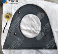 高铬铸铁端护板 寿命长 高硬度 韧性高 高铬配件