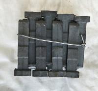 高铬叶片大Q034 硬度高 寿命长 铸铁配件