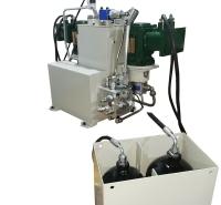 防爆电动无轨胶轮车液压转向制动液压系统 生产厂家
