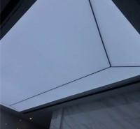 透光膜软膜天花 UV软膜天花 承接工程 白色透光膜 来图加工