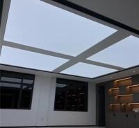 透光膜软膜天花 高清UV软膜天花吊顶 白色透光膜 软膜卡布灯箱