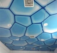 洗浴中心吊顶 软膜天花透光膜 泳池洗浴蓝天白云软膜吊顶