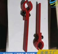 延信非标订做管夹 按图订做单螺栓管夹