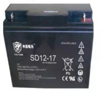 申盾ups电源蓄电池SD12-17厂家直供不间断电源12V17Ah