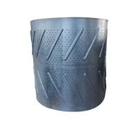 橡胶履带Q3210 寿命长 可质保 耐磨高 抛丸机履带