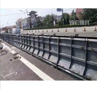 山西混凝土隔离墩模具_公路隔离墩钢模具_水泥隔离墩钢模具_致宏_可定制