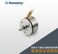 Nanotec 16极外转子电机  直流无刷 结构超紧凑