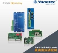 Nanotec 无刷直流电机控制器 可控制方式包括现场总线 脉冲方向 数字模拟输入
