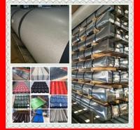 工地交通厂房施工用彩钢板围挡彩涂板SGCC镀铝锌白铁皮喷涂彩钢卷