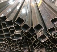 广西钦州市不锈钢异形管D型管椭圆管三角管半圆管