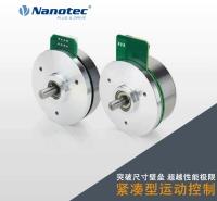 新品 无刷外转子电机 加编码器闭环 设计紧凑 激光 医疗 半导体