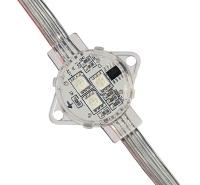 厂家直销玻璃幕墙led灯点光源3公分3灯LED像素灯LED招牌灯LED跑马灯室外防水灯